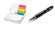 Ручки и записные книжки