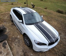 Акцентная полоса BMW Performance для X6 E71