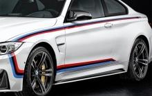 Акцентные наклейки M Performance для BMW M4 F82