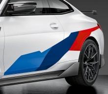 Акцентные наклейки M Performance для BMW M4 G82