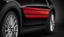Красные акцентные полосы JCW для MINI F56