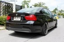 Бампер задний М-стиль BMW E90 3-серия