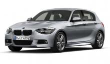 Боковые пороги «М» для BMW F20 1-серия