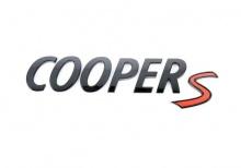 Черная эмблема Cooper S для MINI