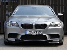 Карбоновый спойлер переднего бампера для BMW M5 F10