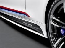 Декоративная плёнка M Performance для BMW M3 F80/M4 F82