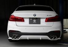 Диффузор 3DDesign для BMW G30 5-серия