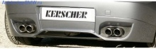 Диффузор заднего бампера BMW E81/E87 1-серия