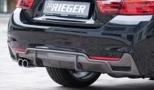 Диффузор заднего бампера для BMW F32 4-серия