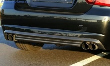 Диффузор заднего бампера G-Power для BMW E90 3-серия