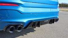 Диффузор заднего бампера Hamann для BMW X4 F26
