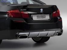 Диффузор заднего бампера Kelleners для BMW F10 5-серия