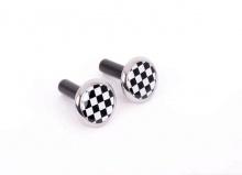 Дверные кнопки Checkered Flag для MINI