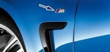 Эмблема BMW M на крыло