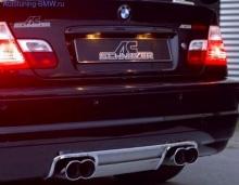 Глушитель AC Schnitzer для BMW M3 E46 3-серия