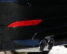 Глушитель Hamann для BMW E60 5-серии (раздвоенный выхлоп)