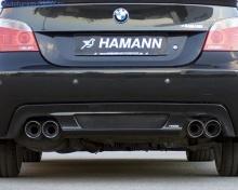Глушитель Hamann для БМВ Е60 5-серия (раздвоенный выхлоп)