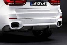 Глушитель M Performance для BMW X5 F15