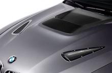 Карбоновая накладка на капот BMW X5 E70/X6 E71
