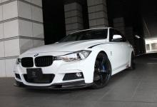 Карбоновая накладка переднего бампера для BMW F30 3-серия