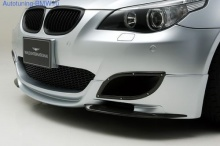 Карбоновая накладка переднего бампера WALD для BMW M5 E60