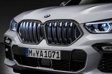 Карбоновая решетка M Performance под Iconic Glow для BMW X6 G06