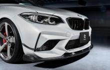 Карбоновые канарды 3DDesign для BMW M2 Competition F87N