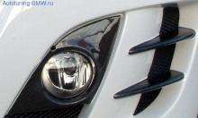 Карбоновые элементы переднего бампера BMW E90 3-серия