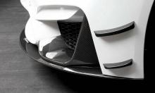 Карбоновые элероны переднего бампера BMW M3 F80-M4 F82