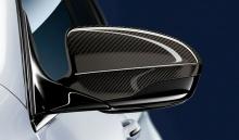 Карбоновые M Performance накладки на зеркала BMW M5 F10