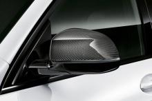 Карбоновые M Performance накладки на зеркала BMW X4 G02/X6 G06