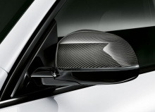 Карбоновые M Performance накладки на зеркала BMW X5 G05