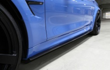 Карбоновые накладки на пороги BMW M3 F80