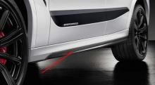 Карбоновые накладки на пороги M Performance для BMW X6M F96