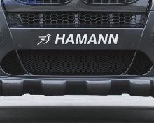Карбоновые накладки переднего бампера Hamann для BMW X6 E71