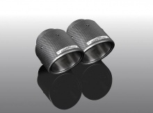 Карбоновые насадки глушителя для BMW G20 3-серия