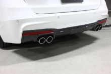 Карбоновый диффузор 3DDesign для BMW F30 3-серия