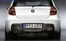 Карбоновый диффузор Performance для BMW E81/E87 1-серия