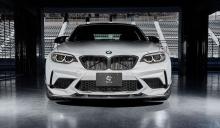 Карбоновый сплиттер 3DDesign для BMW M2 F87