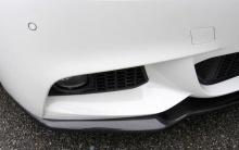 Карбоновый сплиттер для переднего бампера BMW F10 5-серия