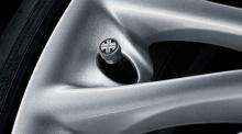 Колпачки Black Jack для клапана колесного диска MINI