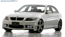 Комплект аэродинамического обвеса WALD для BMW E90/E91 3-серия