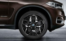 Комплект литых дисков BMW Double-Spoke 215 Black