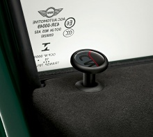 Комплект дверных кнопок JCW Pro для MINI