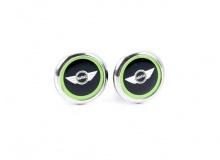 Комплект дверных кнопок Vivid Green для MINI