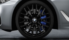Комплект колес Cross Spoke 636 Liguid Black для BMW G30 5-серия