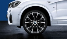 Комплект колес Double Spoke 599M Performance для BMW X5 F15/X6 F16