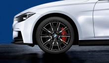 Комплект колес Double Spoke 624M Performance для BMW F30/F32