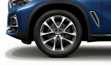 Комплект колес V-Spoke 738 Bicolor для BMW X6 G06