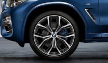 Комплект колес Y-Spoke 701M Performance для BMW X3 G01/X4 G02